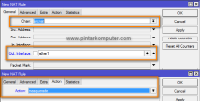 Tutorial Cara Setting Mikrotik Sebagai Router Gateway Internet